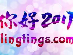 你好2017,新的一年我们从域名开始--lingtings.com